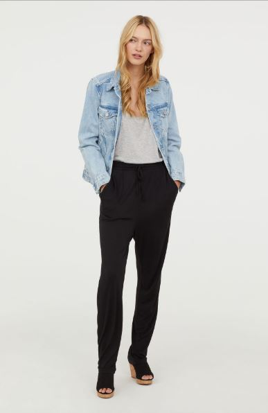 H&M Jersey Joggers £8.99