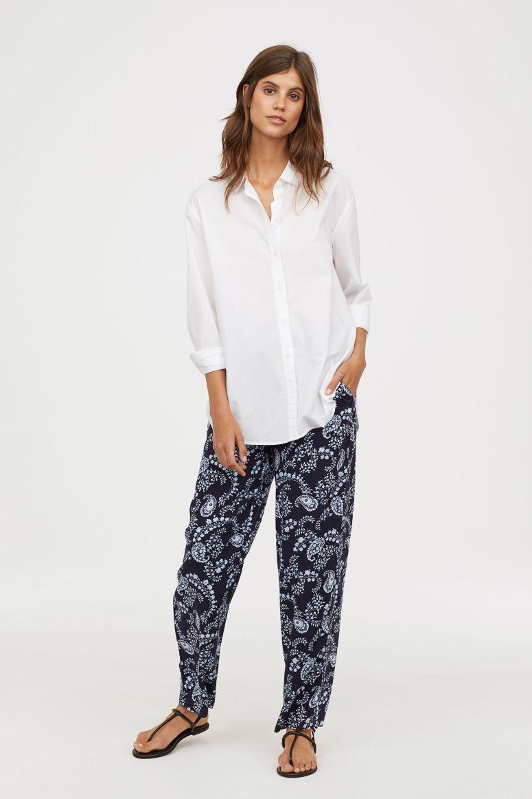 H&M wide leg trousers £17.99