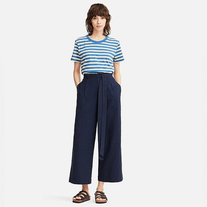 JW Anderson for Uniqlo wide cropped trousers £14.90, were £39.90