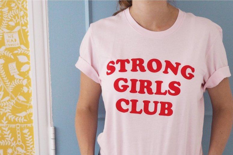 Muthahood Strong Girls Club tee £23