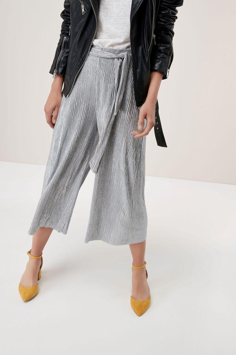 Next Jersey foil culottes £42