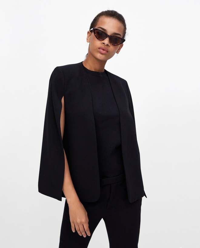 Zara cape jacket £69.99