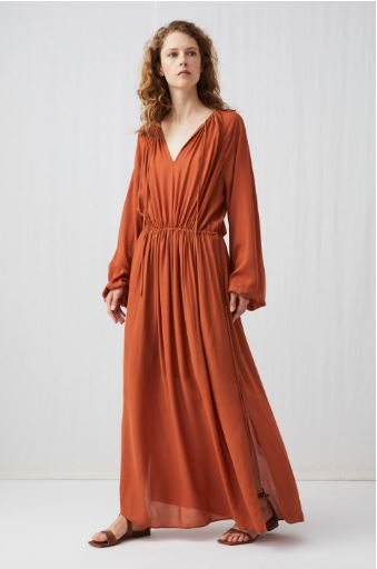 Arket Fluid Drawstring Dress £99