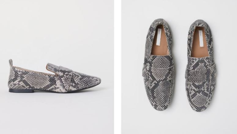 H&M leather loafers £39.99