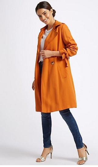 M&S Per Una double breasted trench coat £79