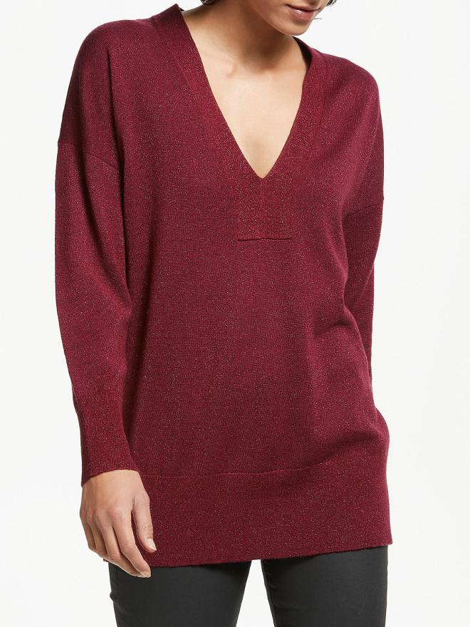 AndOr Zoe V-neck Jumper £55