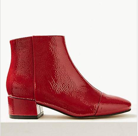 Block Heel Ankle Boots £29.50