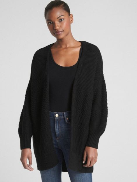 Gap Mix-Knit Cocoon Cardigan Sweater £34.97, was £49.95