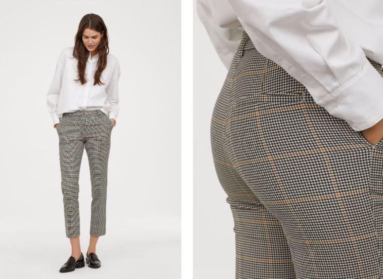 H&M Cigarette trousers £19.99