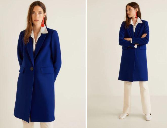 Mango Structured Wool Coat £119.99