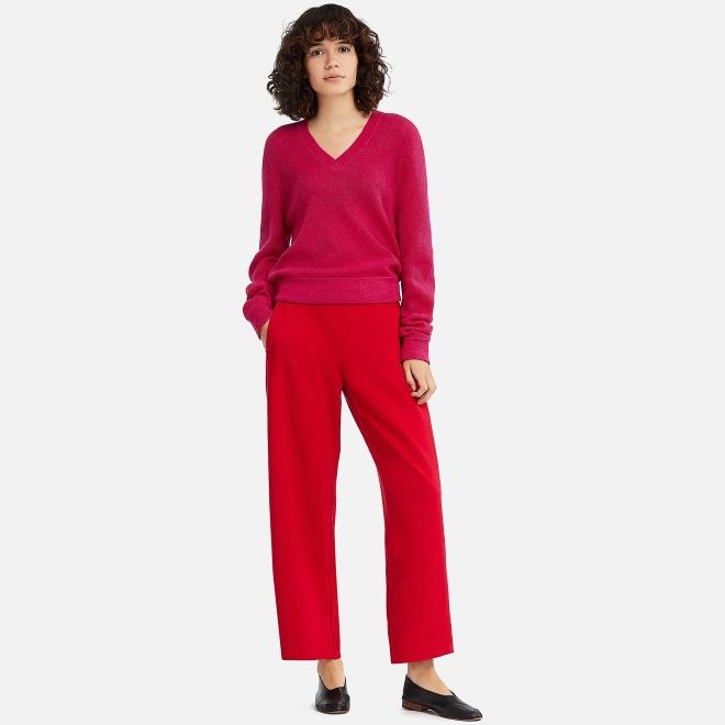 Uniqlo Pink rib sweater £34.50