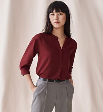 Uniqlo Rayon blouse £19.90