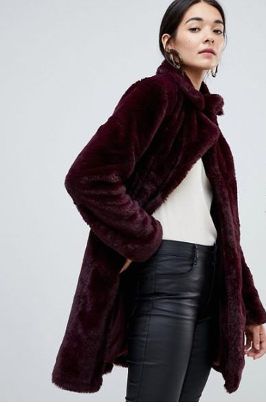 Vila Faux Fur Coat £80