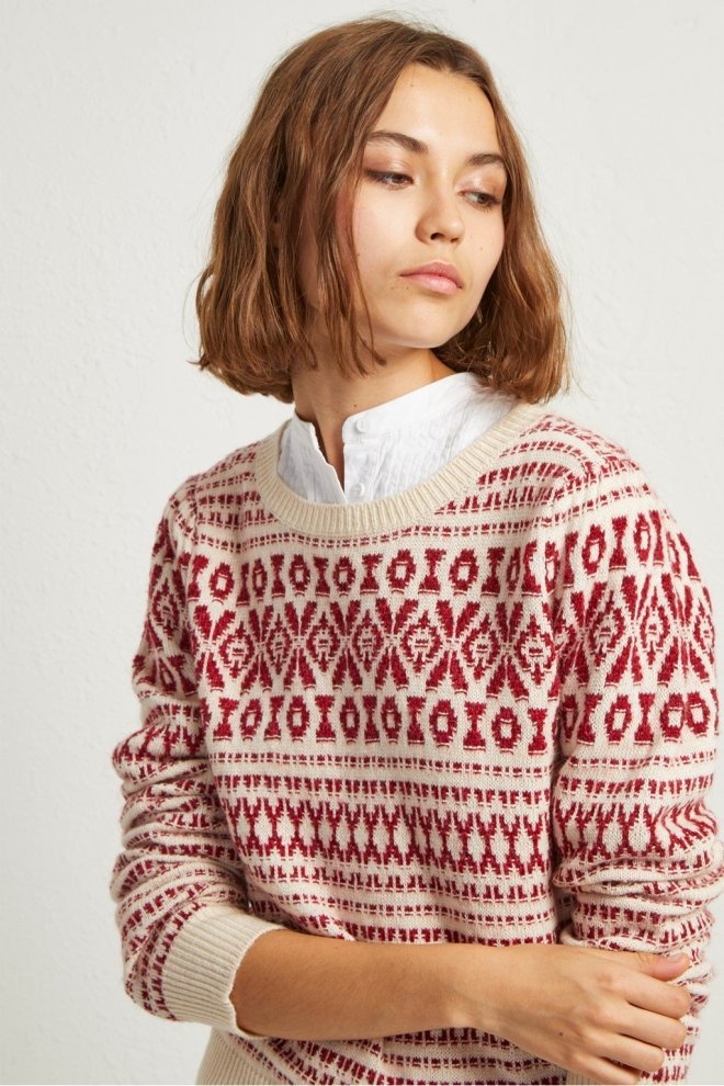 French Connection Esme Fair Isle Jumper £70