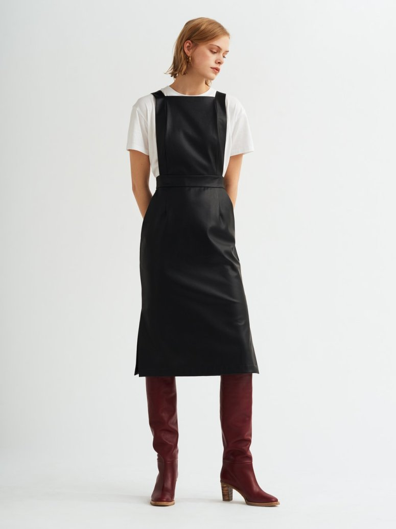 KITRI-Studio-Evelyn-Faux-Leather-Pinafore-Dress-Front_£115