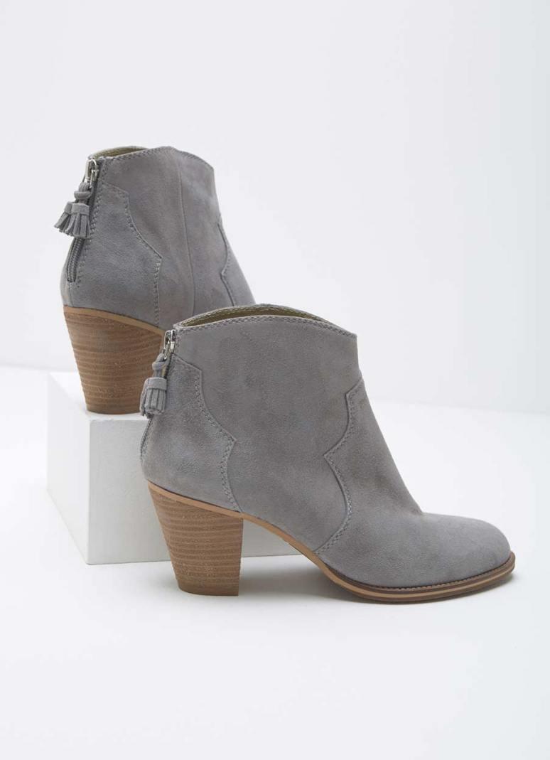 Mint Velvet Nova Grey Cowboy Boot £149