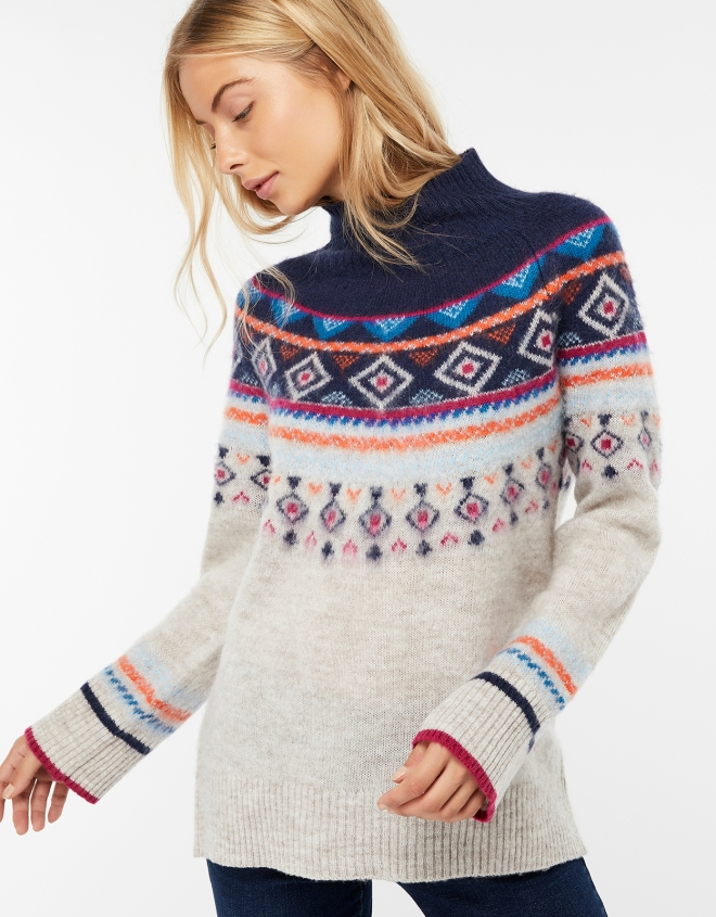 Monsoon Melissa fair isle jumper £55