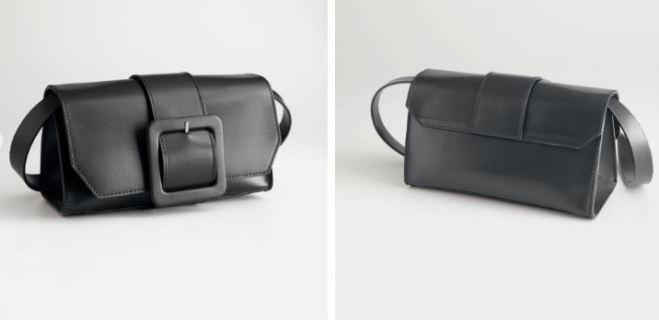 & Other Stories Buckle Cross body bag £79