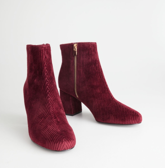 & Other Stories Corduroy Boots £85