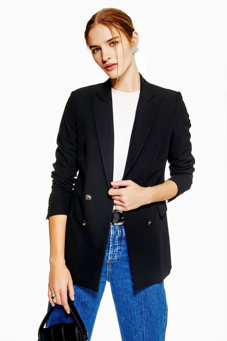 Topshop Double Breasted Jacket £49