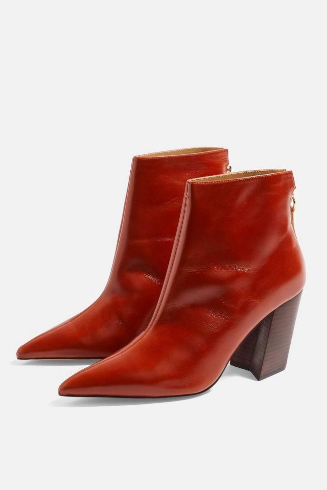 Topshop Hawk Angled Heel boots £79