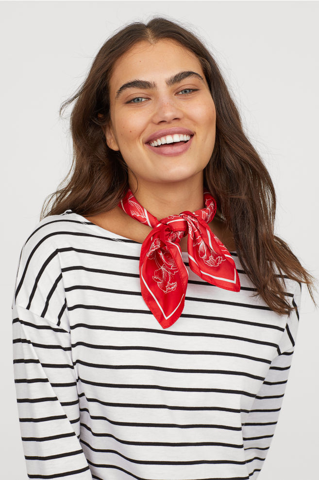 H&M Boat-necked jersey top £9.99