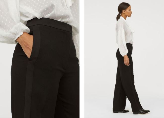 H&M Wide leg trousers £24.99