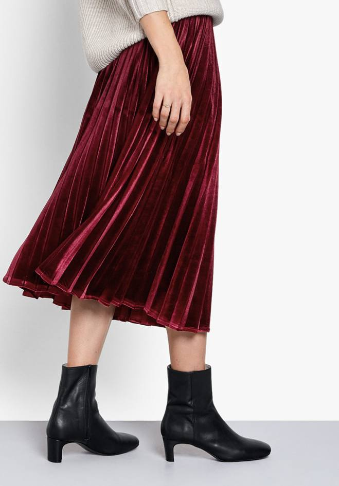 Hush Esme Pleated Skirt £65