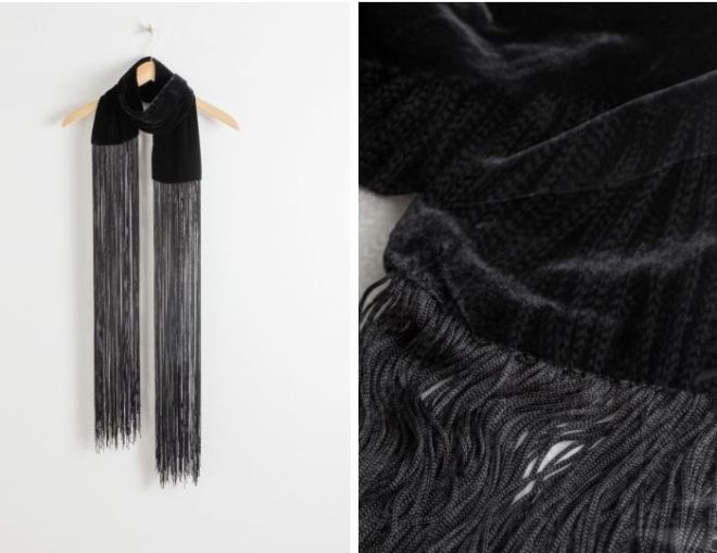 other-stories-velvet-fringe-scarf-£27