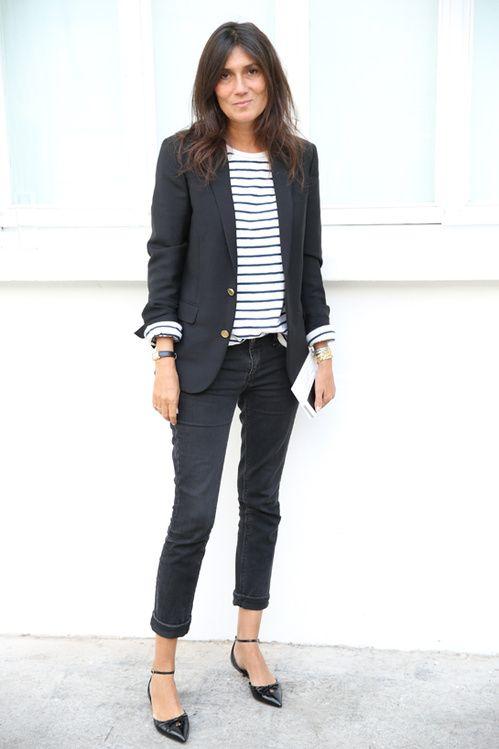 Emmanuel Alt, breton stripe + jacket