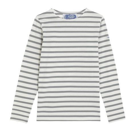 The Breton Shirt Company, Breton Grey £37