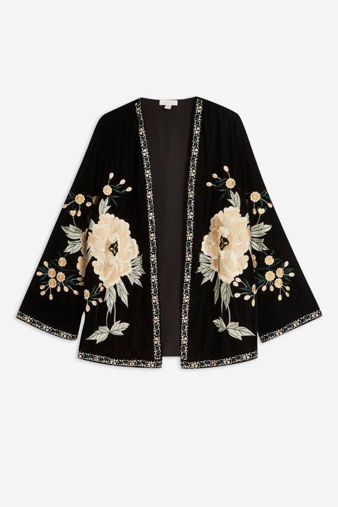 topshop-velvet-embellished-kimono-£69