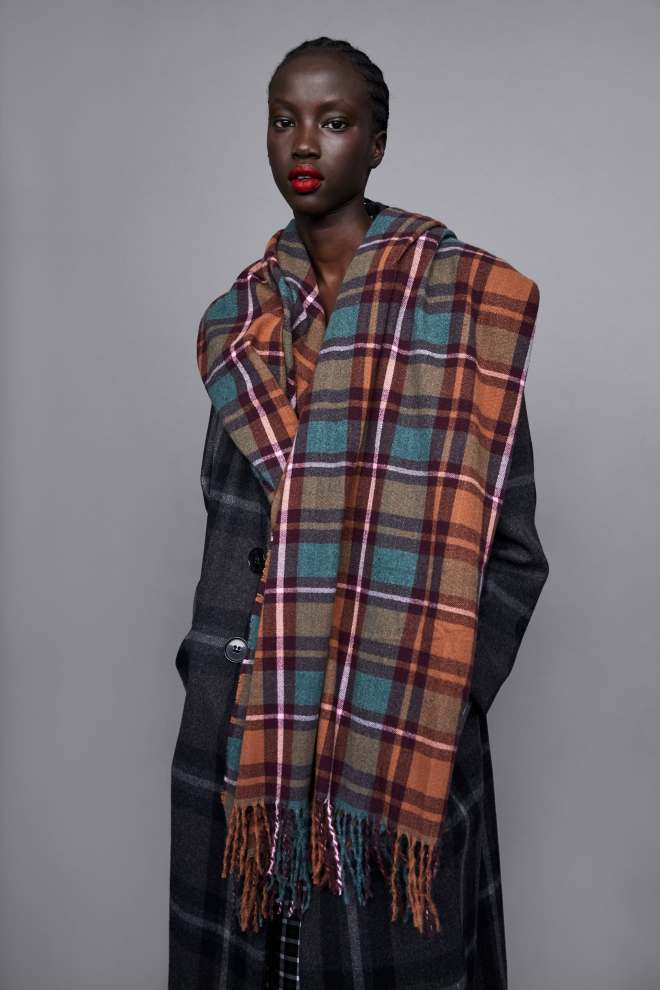 Zara Soft Touch Checked Scarf £19.99
