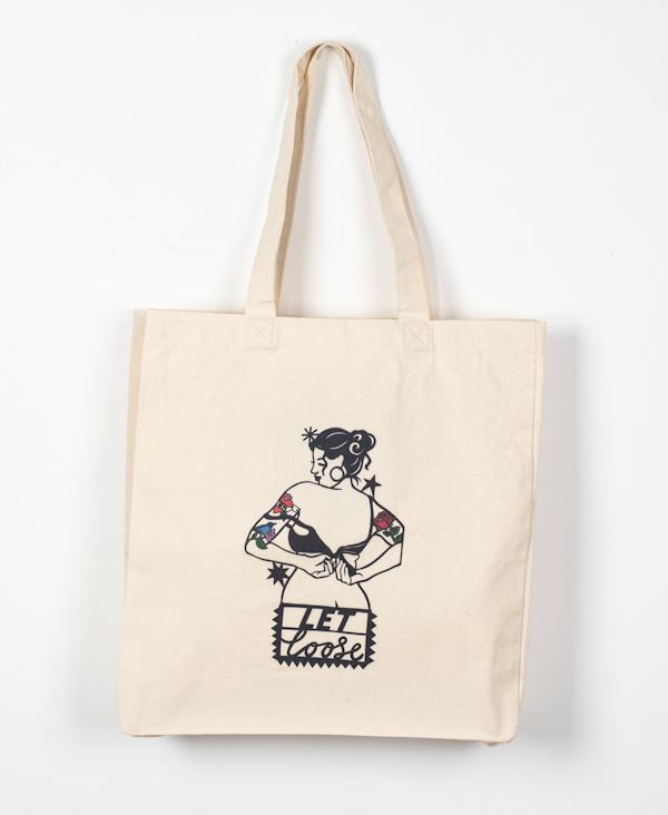 Girl vs Cancer Let Loose Tote Bag £18
