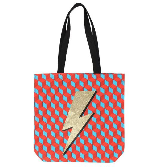 Paperchase Super Future Rebel Lightning Bolt Shopper £8.40, was £12