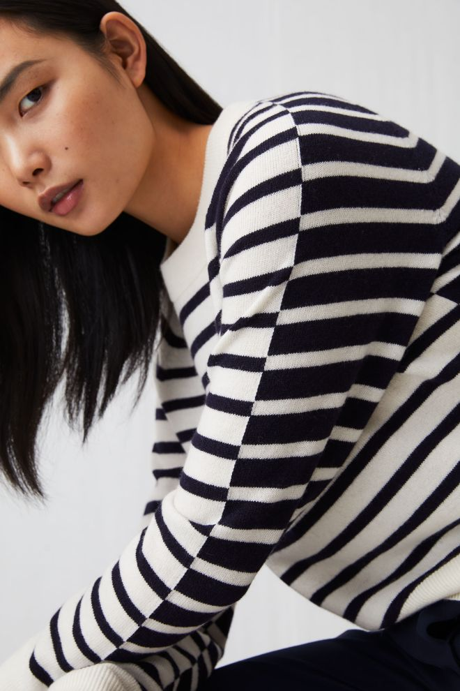 Arket striped merino wool jumper £69