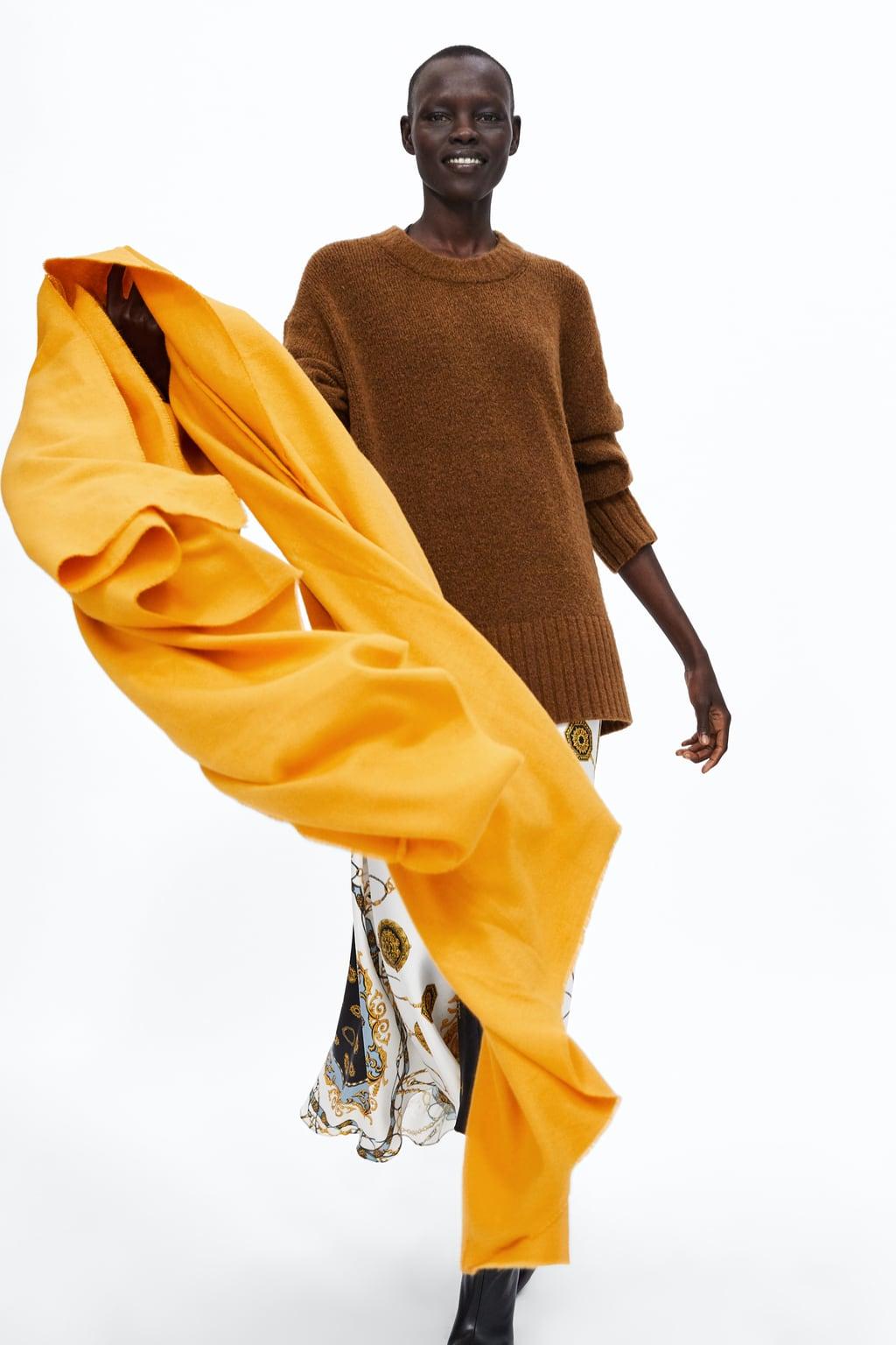 zara soft scarf £12.99, was £19.99