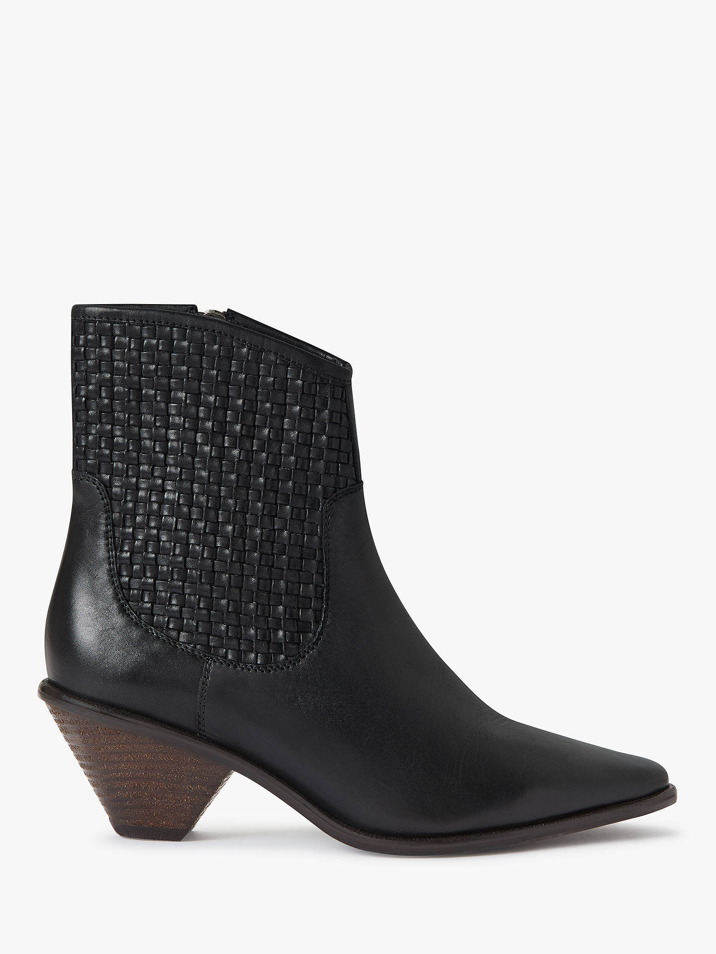AndOr Priya Ankle Boots Black Leather £109