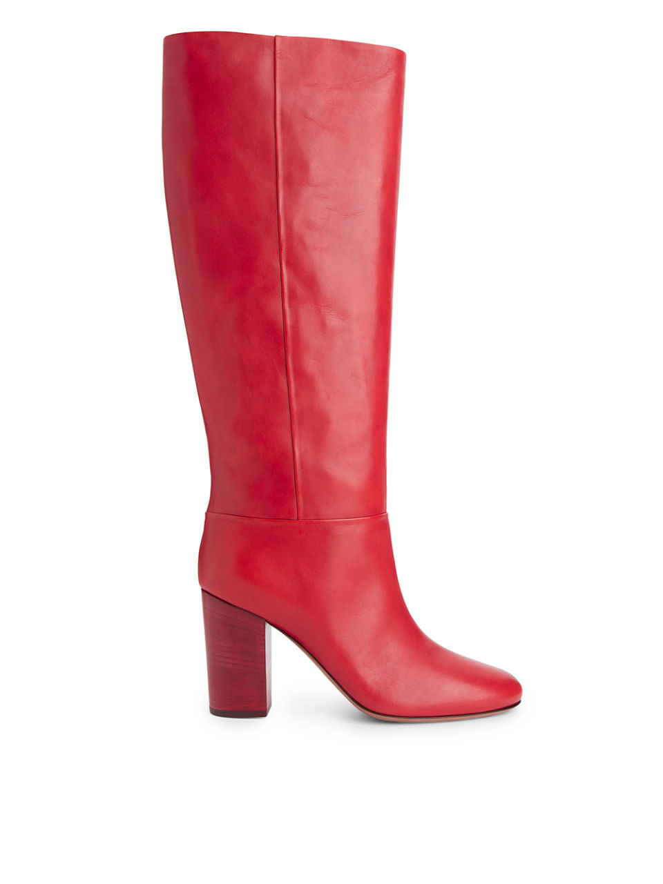 Arket High Heeled Leather Boots £250