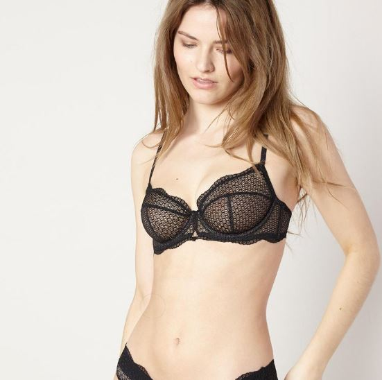 Beija London Waves Y bra in black £60