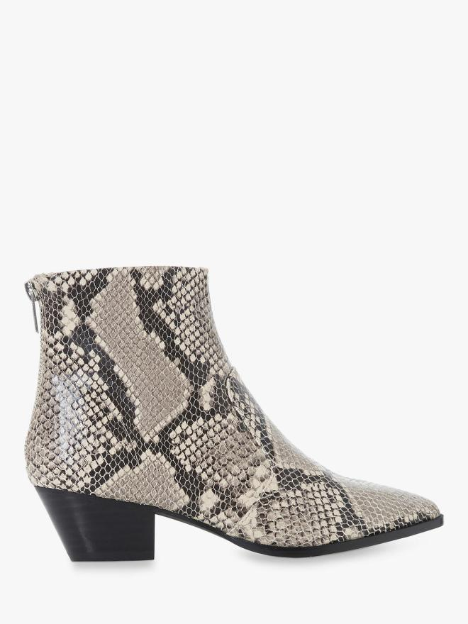 Steve Maddon Cafe SM Ankle Boots, Reptile Leather £85