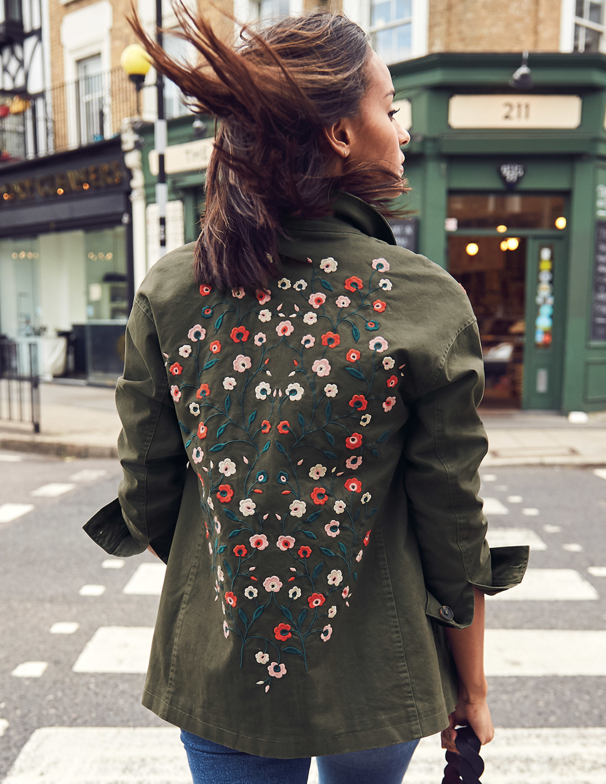 Boden Ruby Embroidered Jacket £120