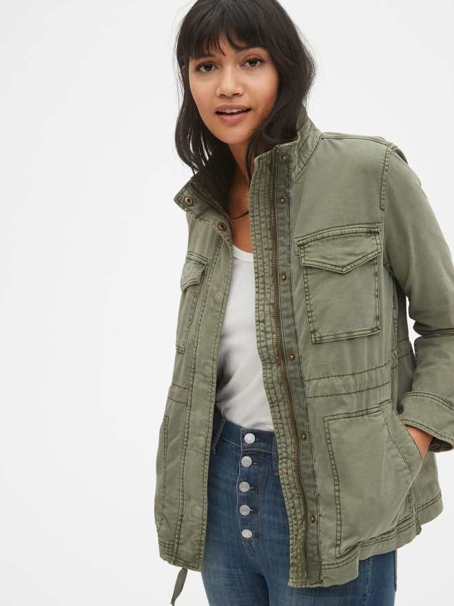 Gap Garment Dyed Utility Jacket £64.95