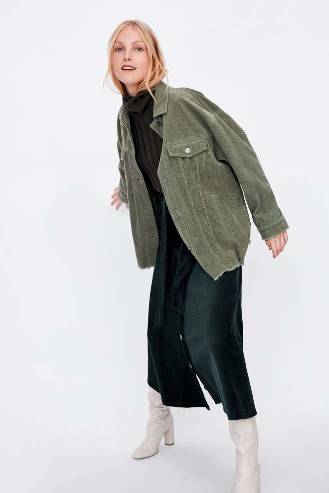 Zara Oversized Corduroy Jacket £29.99