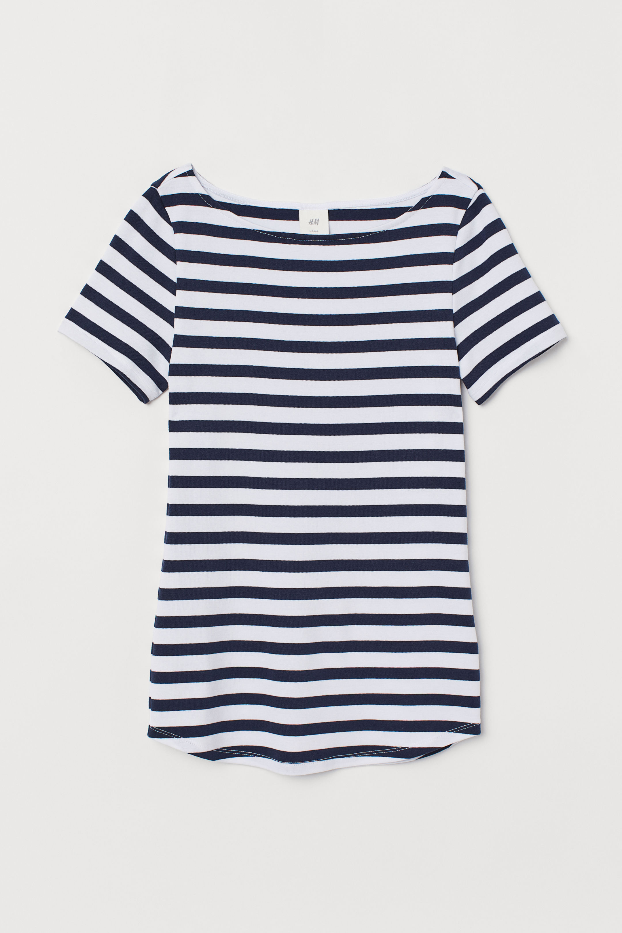 H&M boat neck tee £8.99