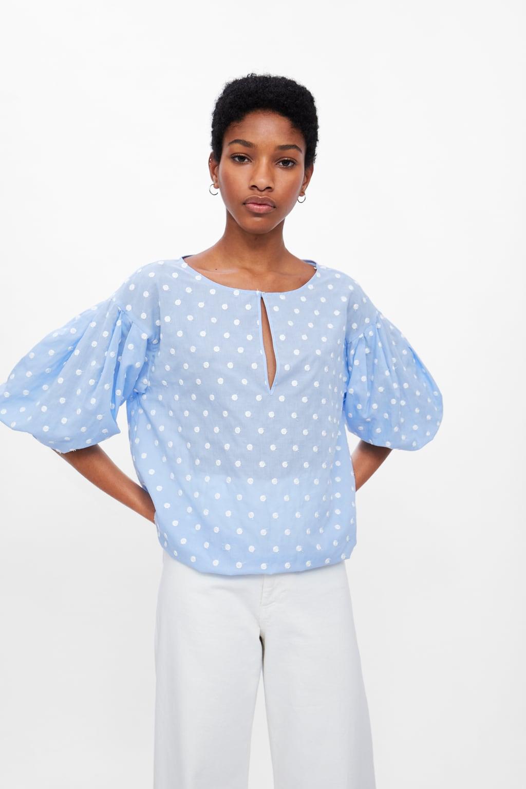 Zara Polka Dot top £12.99