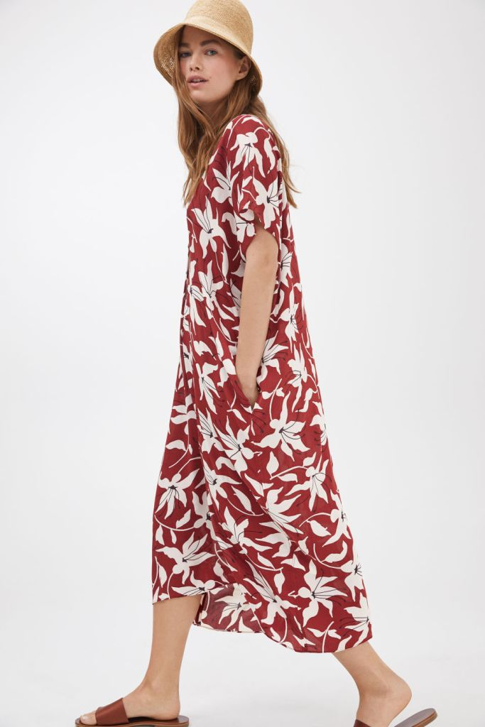 Arket Floral Kaftan Dress £89
