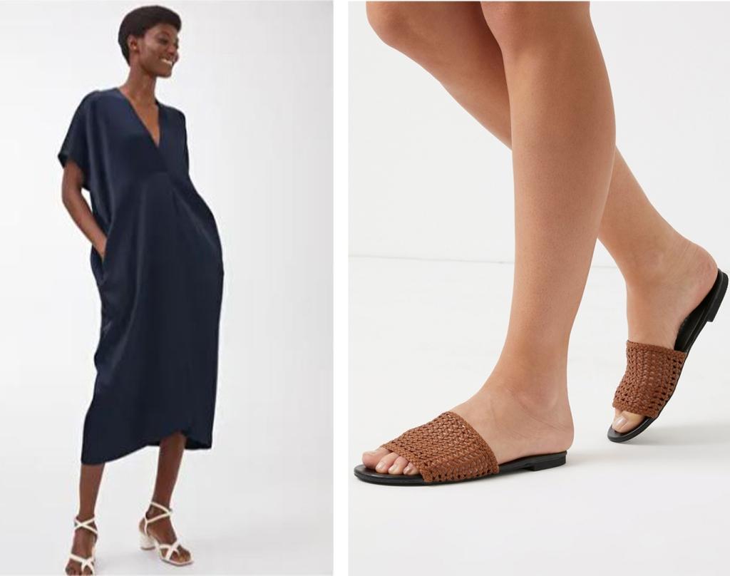 Arket Kaftan & Next Sandals