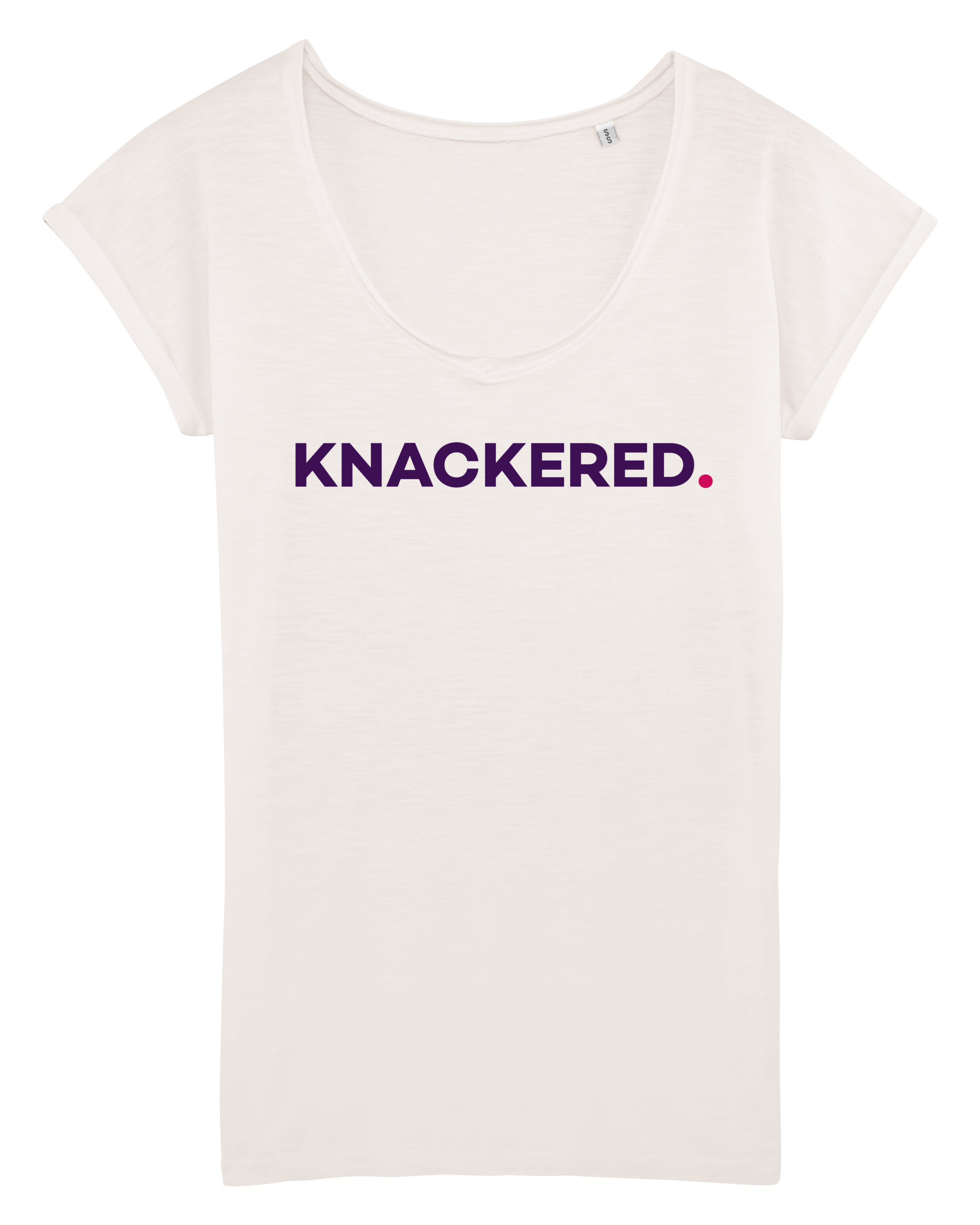 fwp by Rae, KNACKERED slogan t-shirt £28