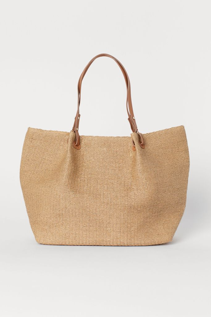 H&M Paper Straw shopper £17.99